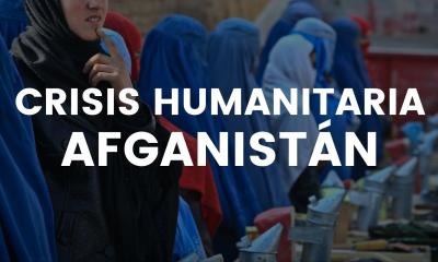 Crisis humanitaria en Afganistán