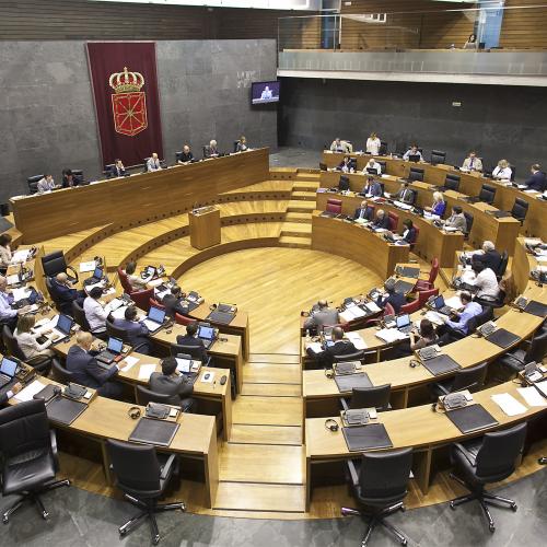 Debate con los candidatos a la presidencia de Navarra