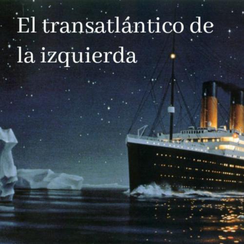 El transatlántico de la izquierda