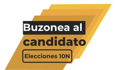 Buzonea al candidato