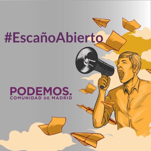#EscañoAbierto