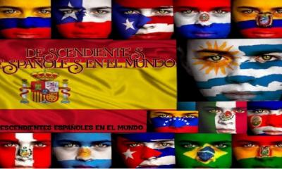 DESCENDIENTES ESPAÑOLES EN EL MUNDO