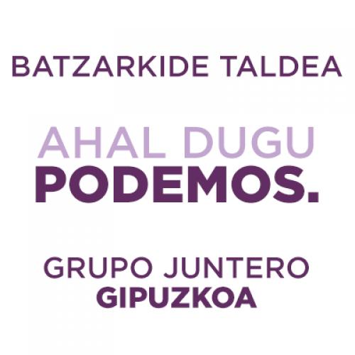 Grupo Juntero Podemos Gipuzkoa